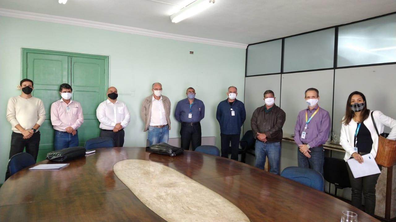 Prefeito de Lafaiete recebe presidente da Copasa e apresenta demandas do município