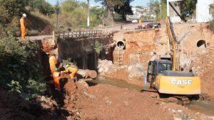Administração Municipal  continua com   importantes obras e serviços na cidade
