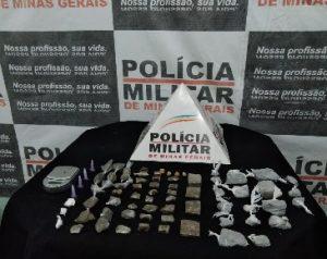 Em operação, Polícia Militar apreende drogas na Linhazinha