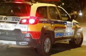Três homens foram presos após fugirem de blitz no centro da cidade