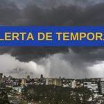 INMET alerta para tempestades na tarde de hoje