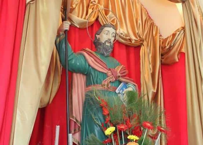 Iniciada em Lafaiete a novena de São Judas Tadeu