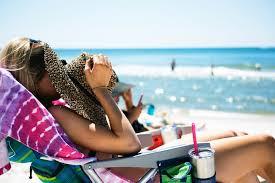 Alimentação saudável para um dia na praia
