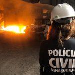 Polícia Civil incinera mais de 300 kg de drogas no âmbito do 13°  Departamento
