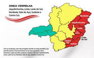 Lafaiete e região regridem para Onda Vermelha no Minas Consciente