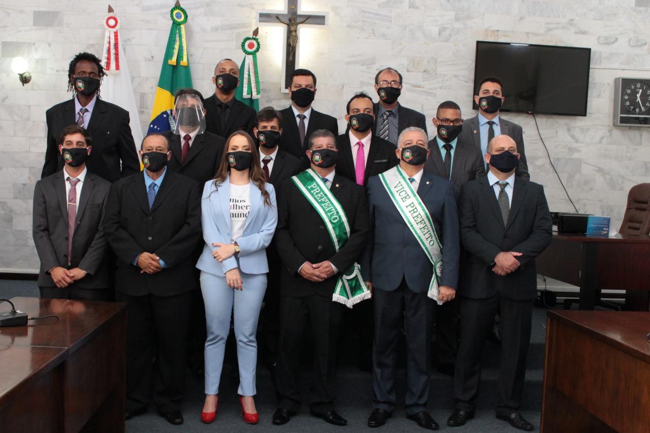 Mário Marcus toma posse para o segundo mandato em Lafaiete