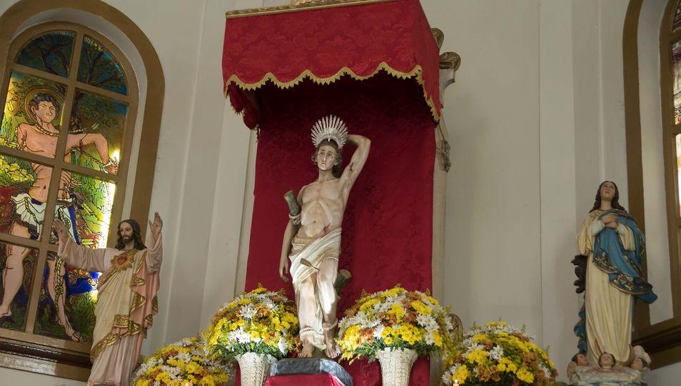 Paróquia de São Sebastião inicia o tríduo em honra ao padroeiro