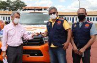 Prefeitura de Congonhas recebe doação de veículos para Defesa Civil