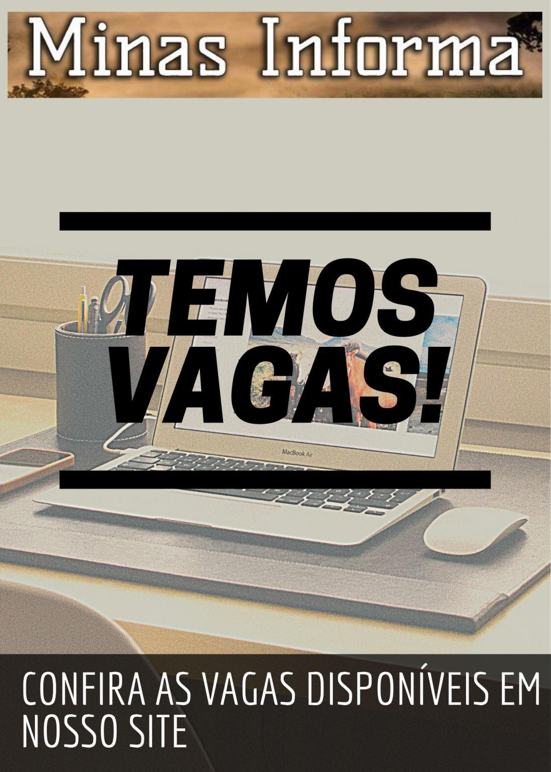 Confira as vagas disponíveis no Sine de Lafaiete nesta sexta-feira, dia 09 de abril