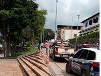 Prefeitura de Congonhas interdita praças centrais da cidade