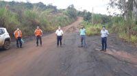 Secretaria Municipal de Obras e Vale discutem melhorias no trecho de estrada municipal