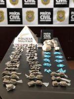 Polícia Civil apreende grande quantidade de drogas em Conselheiro Lafaiete