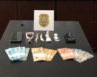 PCMG prende três pessoas durante ação de combate ao tráfico em Conselheiro Lafaiete