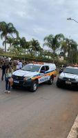 Policiais, familiares e amigos se despedem de Capitão Alves