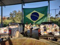 Campanha de combate à fome  é realizada pelo TG 04-032 em Lafaiete