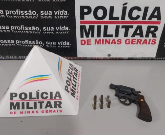 Motorista portando revólver municiado é abordado pela PM  BR-040