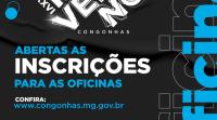 Abertas as inscrições para as oficinas online do 26º Festival de Inverno de Congonhas