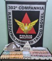 Operação no Bairro Linhazinha prende dois por tráfico de drogas