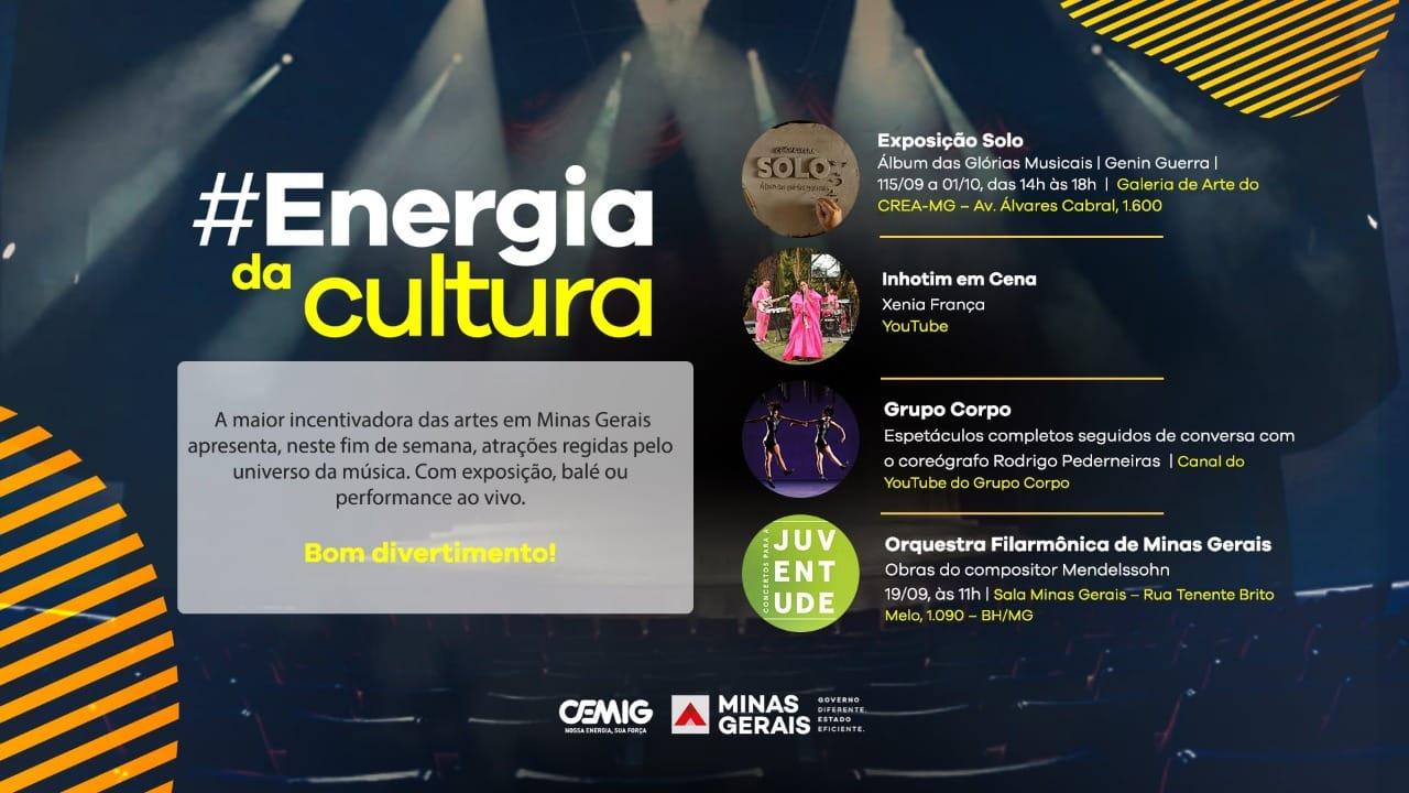 Energia da Cultura –  Grupo Corpo retorna às plataformas digitais com espetáculos completos e público poderá entrevistar o coreógrafo Rodrigo Pederneiras