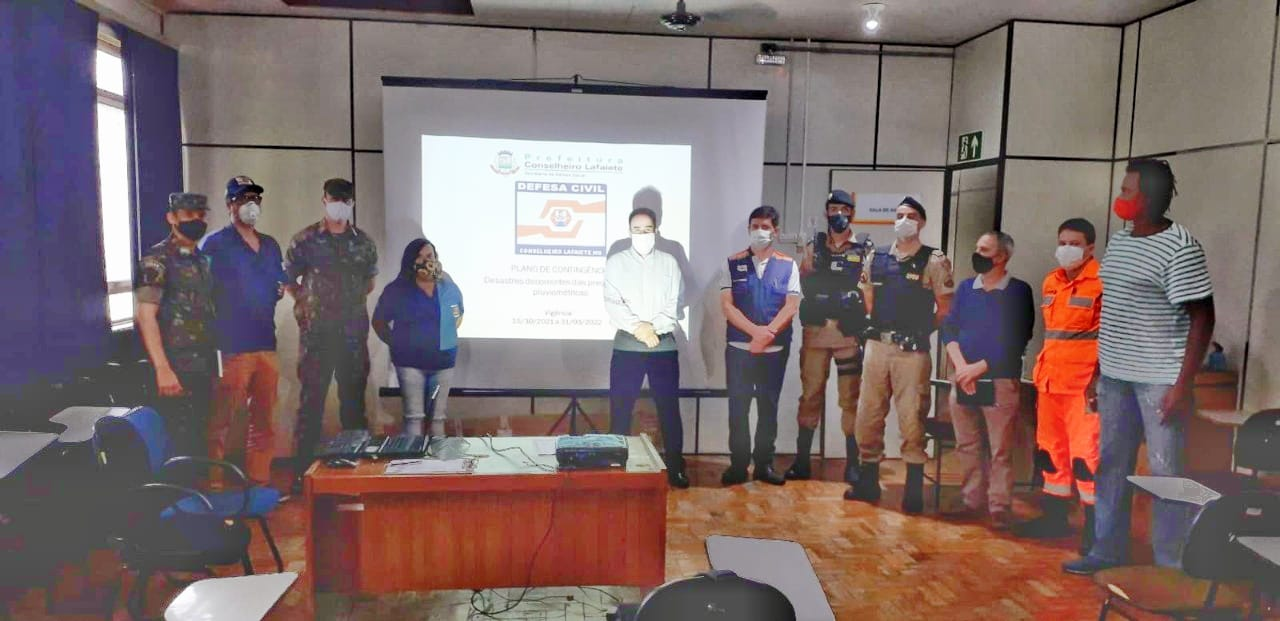 Defesa Civil apresenta Plano de Contingência para o período chuvoso